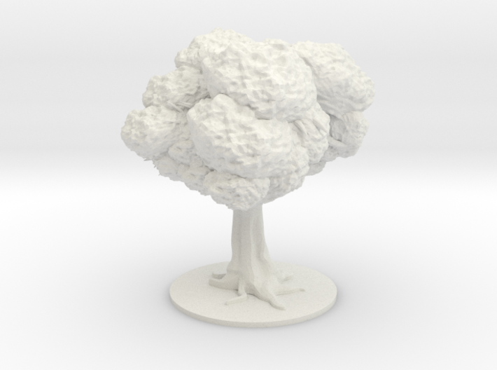 Tree Spider with leaves 3d printed
