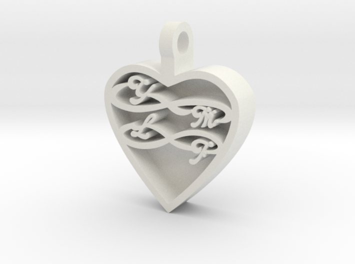 Your My Love Forever 3d printed