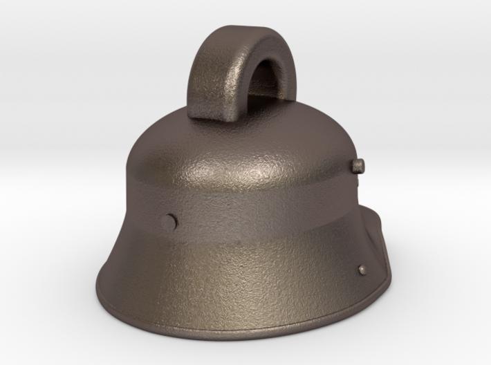 OCAD M1916 HELMET KEYRING FINAL 3d printed