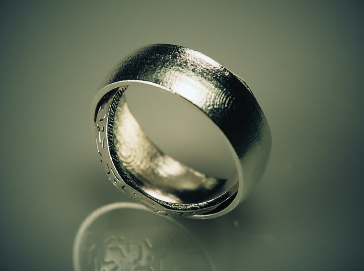One Ring Design 3d printed