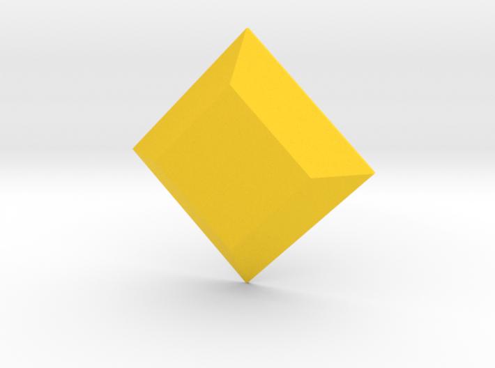 Trapezoid Gem 3d printed