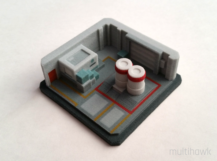 Counter-Strike: GO® Pocket Nuke: A Site 3d printed