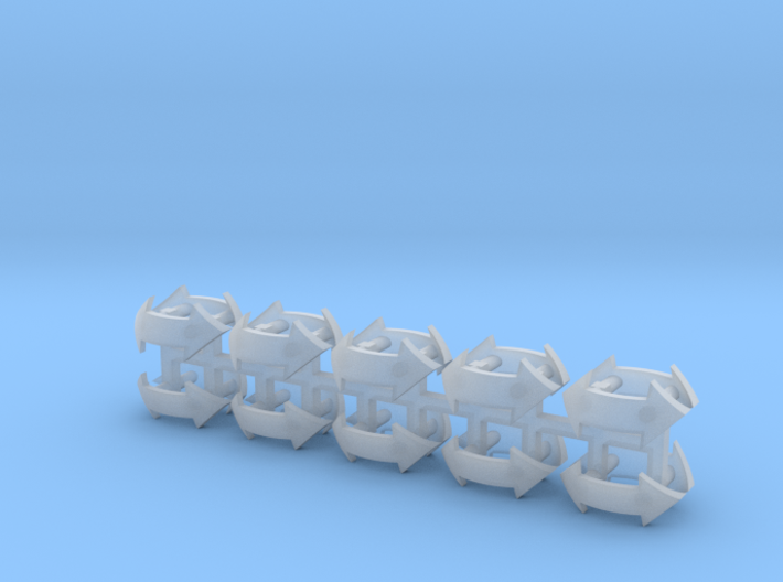 Assault Squad #2 Shoulder Pad icons 3d printed