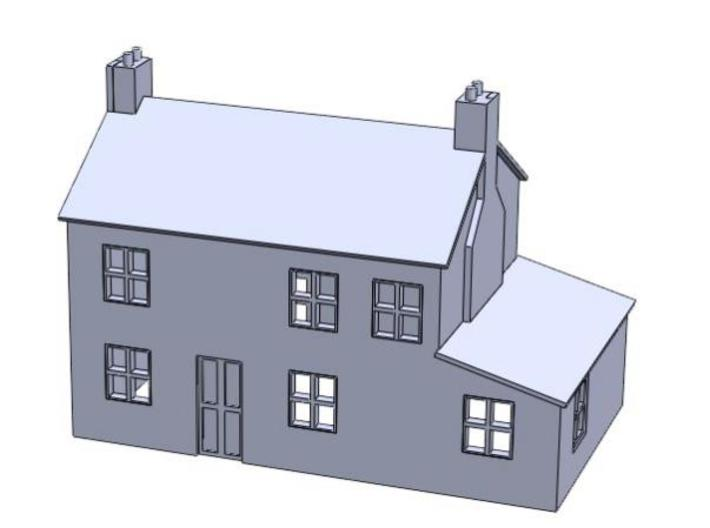 T Gauge House 3d printed Description