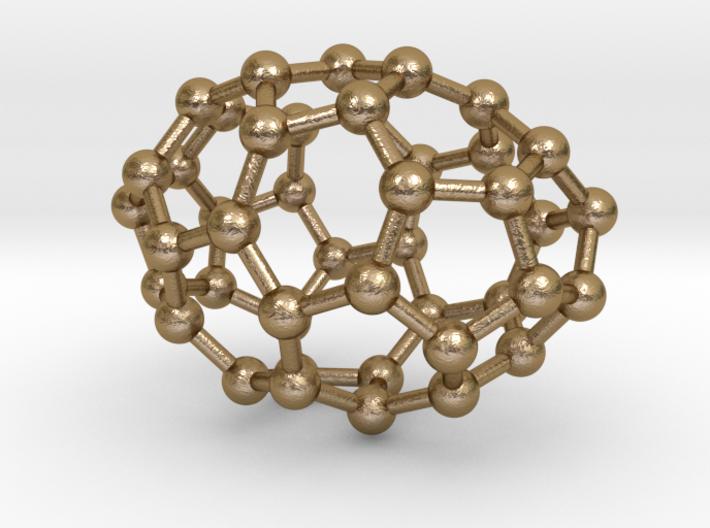 0635 Fullerene c44-6 c2 3d printed