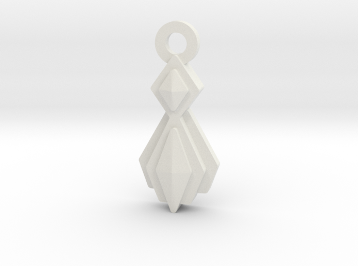 House of Mogh Charm 3d printed
