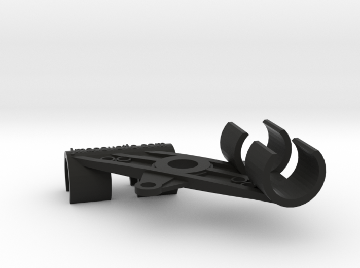 XY Stereo Mic Clip 25mm 3d printed XY Stereo Microphone Mount