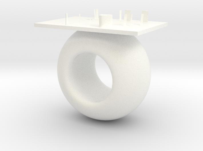 Circle cabinet 3d printed