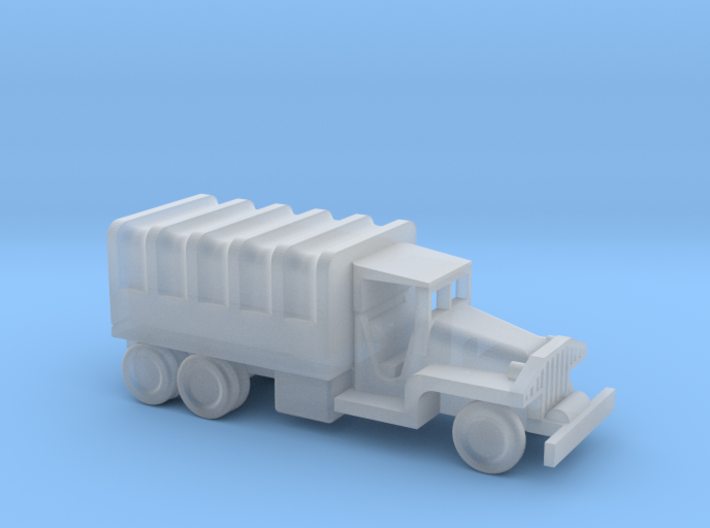 1/245 Scale CCKW Truck Covered 3d printed