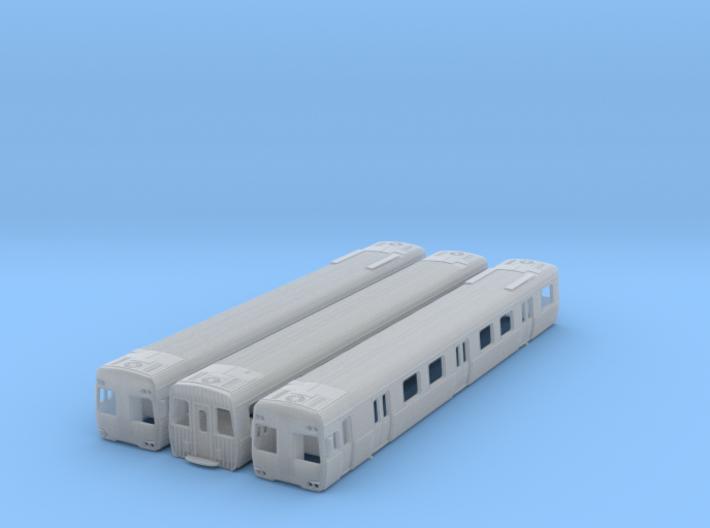NCS1 - Alstom Comeng 3 Car Set 3d printed