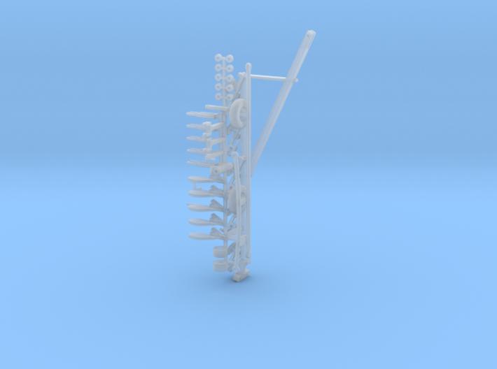 1/64 710 5 Bottom Plow Kit 3d printed