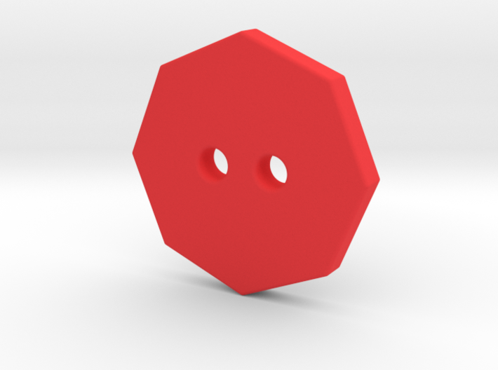 Octagonal Button 2 3d printed