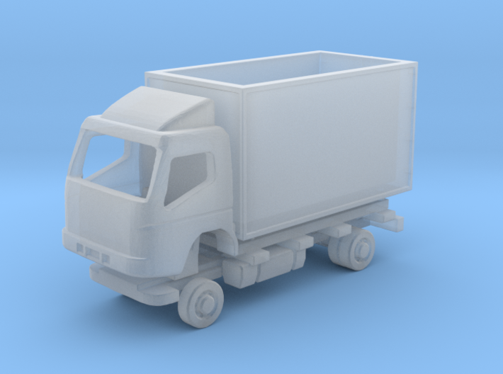 N Gauge Mitsubishi Fuso Box SWB Kit 3d printed