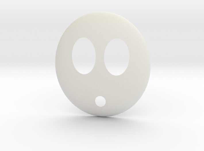 Shy Guy Mask 3d printed