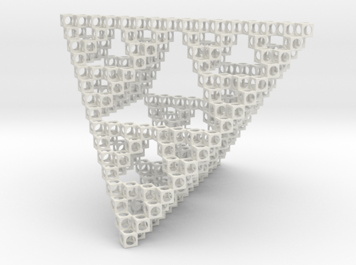 Minimal Art Object Sierpinsky 3d printed