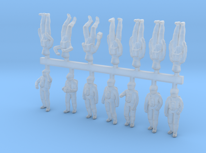 2001 Astronauts 1:144 Special Edition 3d printed