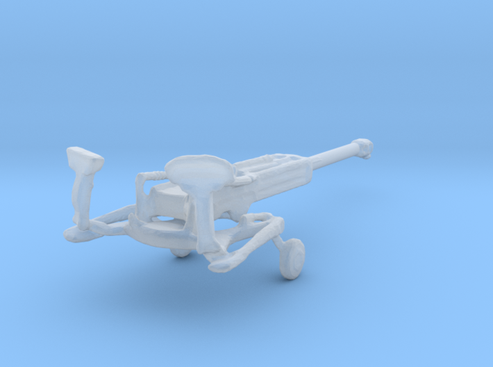 1/144 Scale M777 155mm Howitzer Towed 3d printed