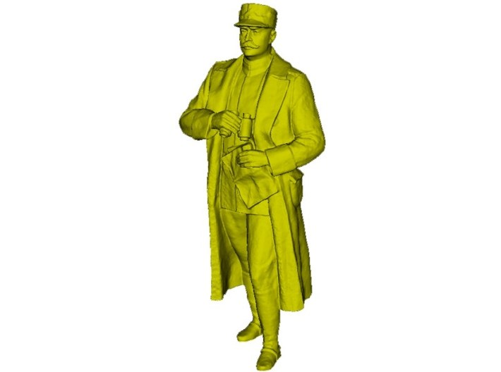 1/24 scale Romanian Army General Ion Dragalina 3d printed