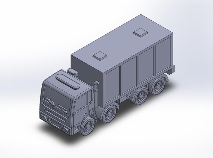 EuroTruck v1 Box 4axle 3d printed