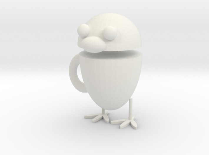 Chicken cup 3d printed