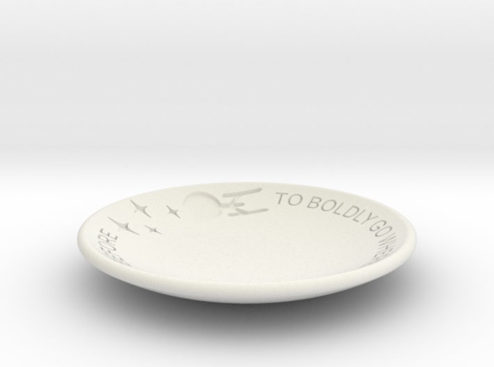 To Boldly Go... Dish 3d printed