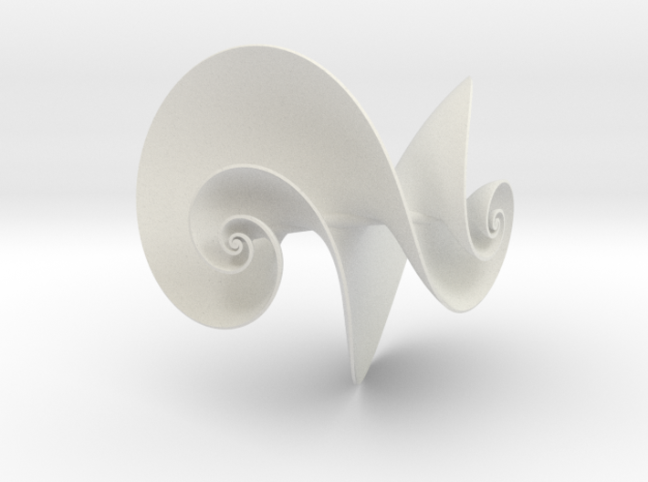 Hyperbolic Helicoid 3d printed