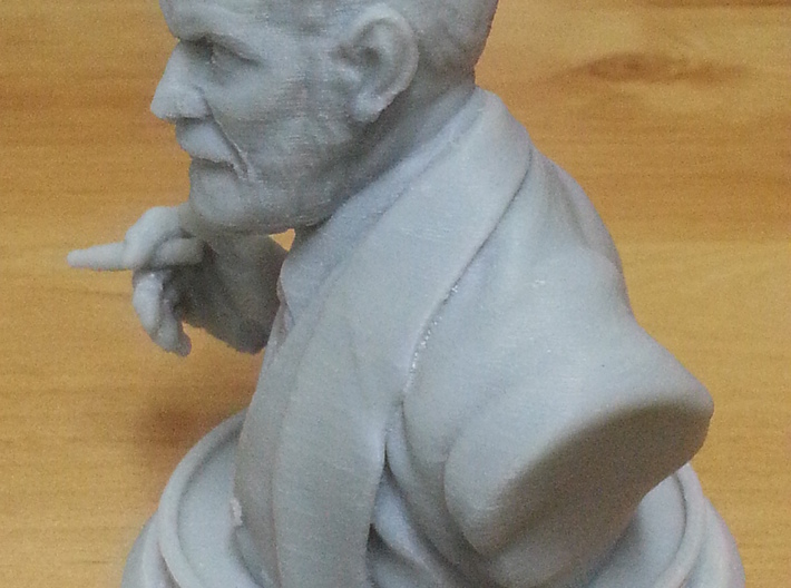Sigmund Freud Bust 50mm 3d printed