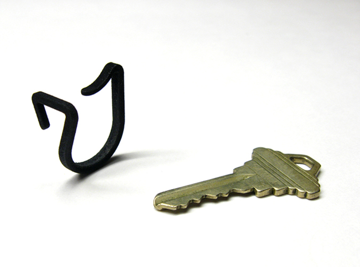 Keon V1*, a ring that holds your key(s) 3d printed aka 7