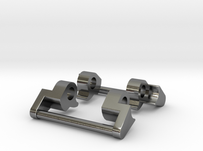 GShock MTG-S1000 NATO adapter (metal) 3d printed
