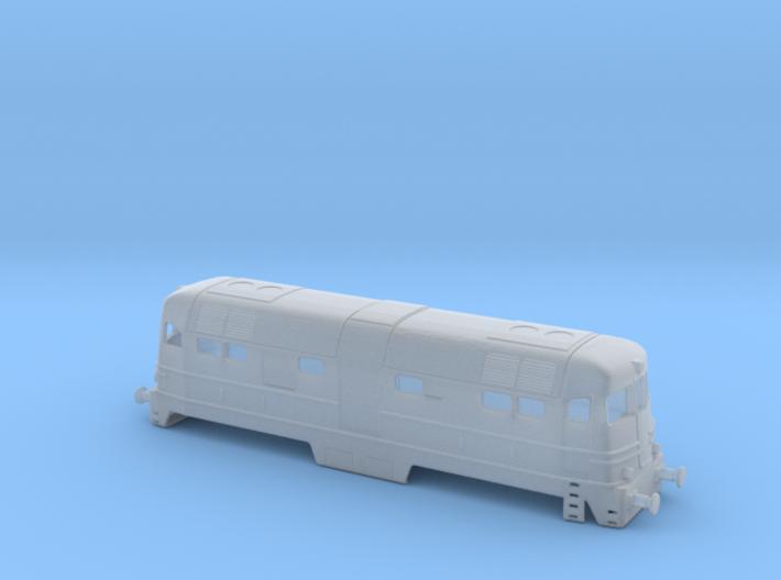 FS D342.4006 (Ansaldo) in scala Z 3d printed