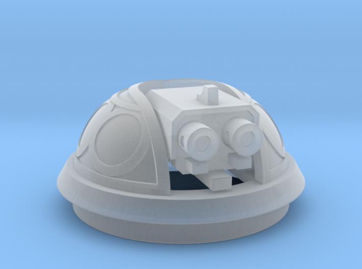 Bubble Canopy Gun - no ornamentation 3d printed