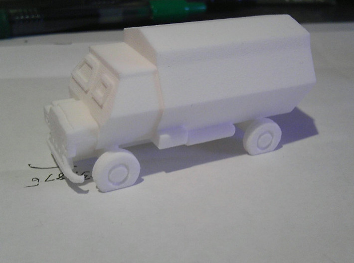 Crocodile APC 3d printed