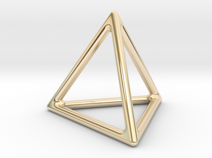 Simply Shapes Homewares Triangle 3d printed