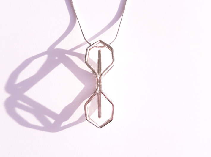 A-LINE Timeless, Pendant 3d printed