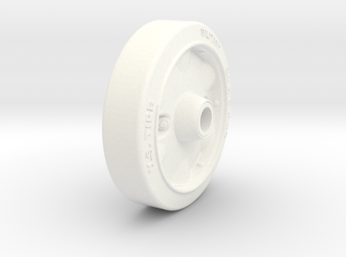 1/6 Adapted Road Stamped Wheel Stuart 3d printed