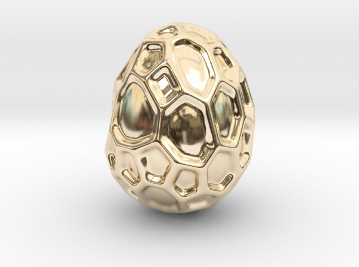 DRAW geo - alien egg 3d printed