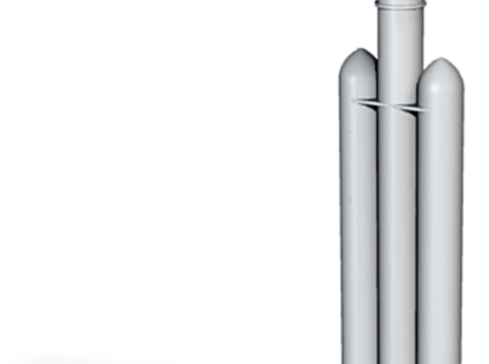 1/700 Delta IV Rocket (Heavy Payload) 3d printed