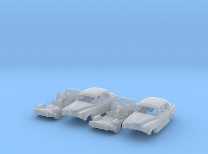 SET 2x Simca Aronde 1300 (TT 1:120) 3d printed