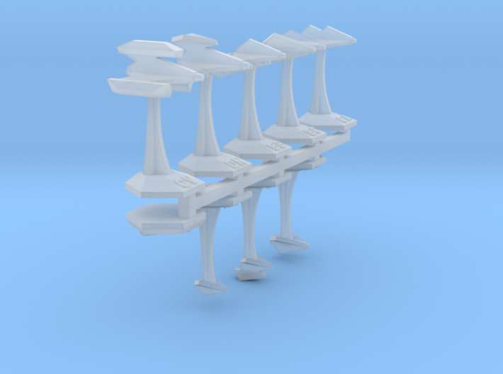 MicroFleet Webbian Sampler (9pcs) 3d printed