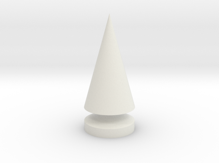 Conical Tree Spike 3d printed