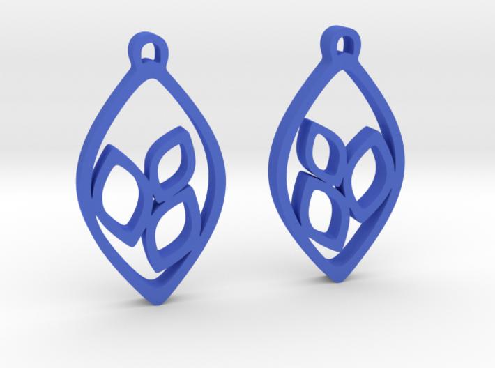 """""""Eyelets"""" Earrings 3d printed"""