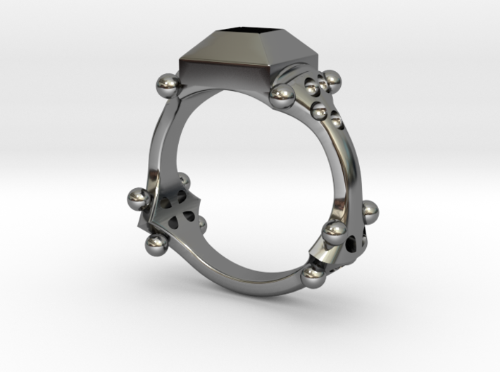 14th century ring, England 3d printed