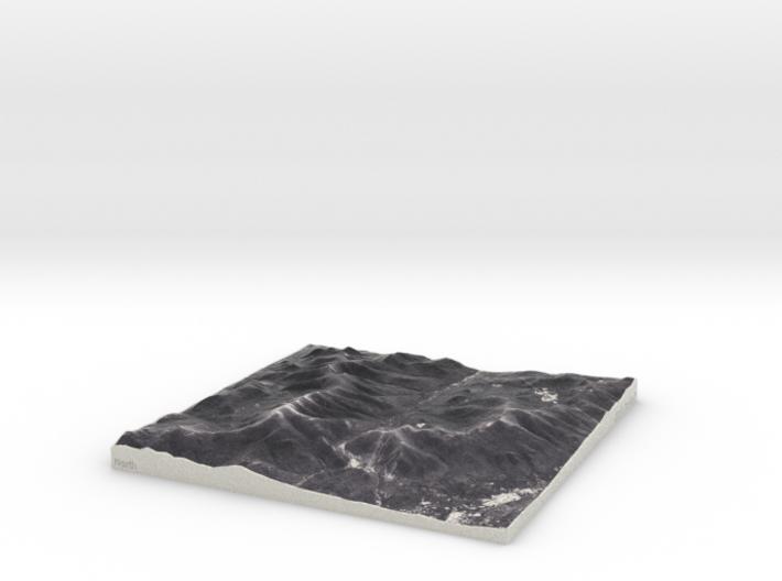 Franconia Notch, NH, USA, 1:100000 Explorer 3d printed
