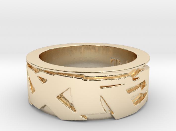 Trixter Signature Series Ring IX 3d printed