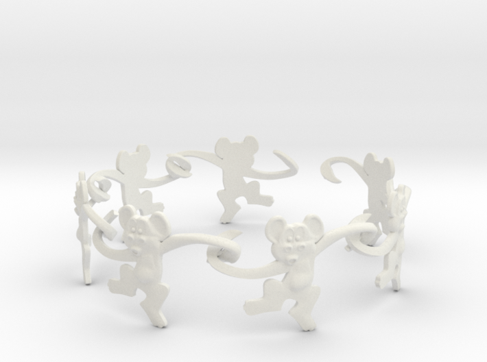 Monkey Band 3d printed We are the dancing monkeys!