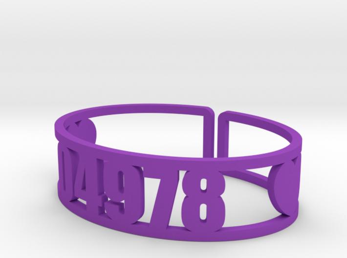 Matoaka Zip Cuff 3d printed