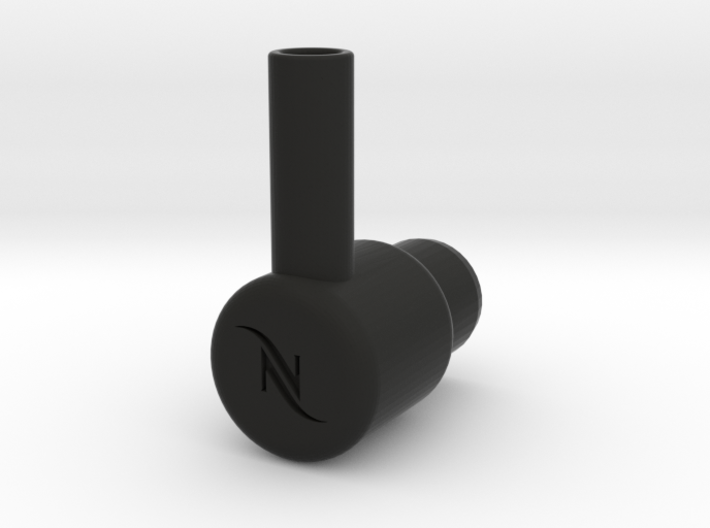 """Nespresso water tank To 3/8"""" quick connect 3d printed"""