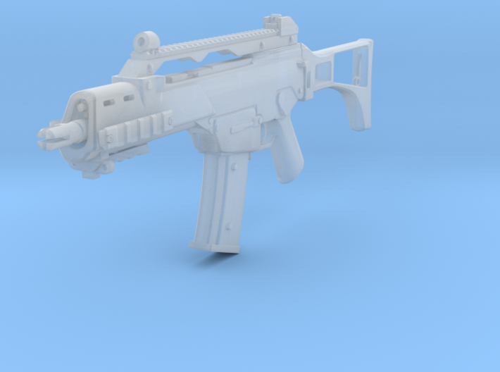 1/10 scale G36C 3d printed