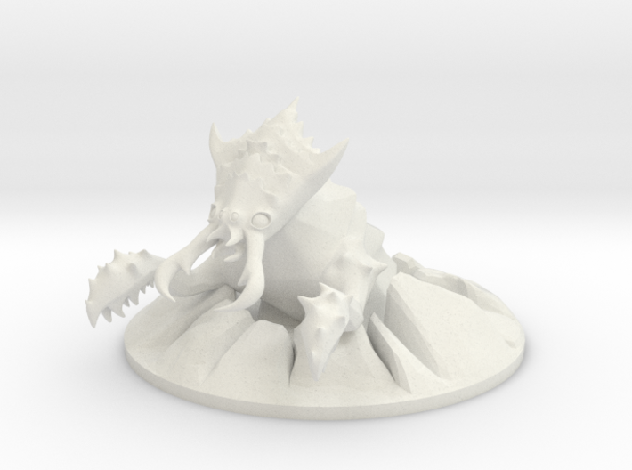 Ankheg bursting out of the ground! 3d printed