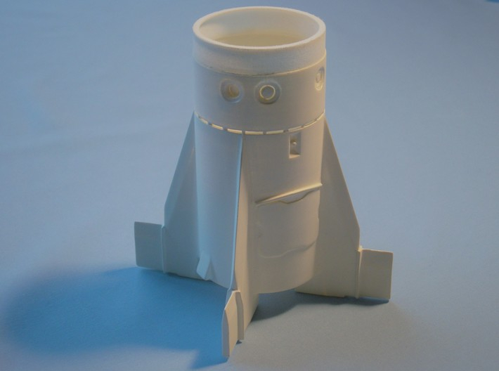 Redstone Booster Fin Unit ST-20 for 18mm motors 3d printed